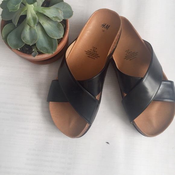 2f25180177c7 H M Shoes - H M Birkenstock Inspired Sandal